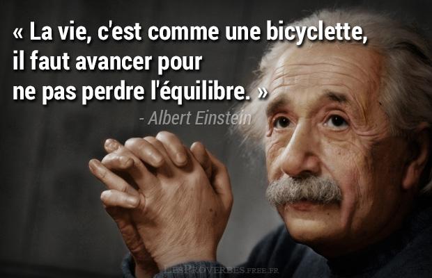 La Vie Citation Albert Einstein Citation En Image