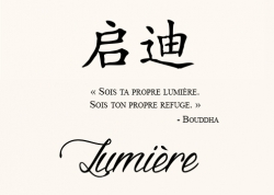 Lumière Proverbe Chinois