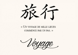 Voyage Proverbe Chinois