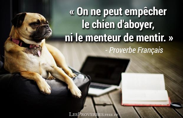 Proverbe Francais Le Menteur Citation En Image