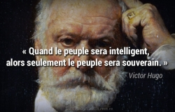 Citation Victor Hugo - le peuple sera souverain
