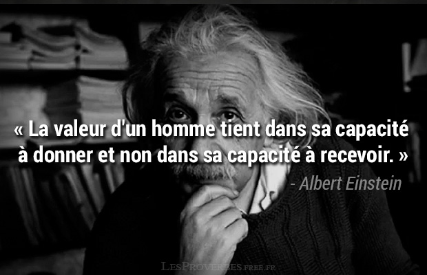 citation albert einstein capacit donner citation en image albert einstein. Black Bedroom Furniture Sets. Home Design Ideas