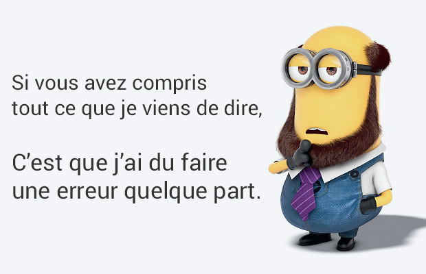 Les Citations Citations Des Minions En Images